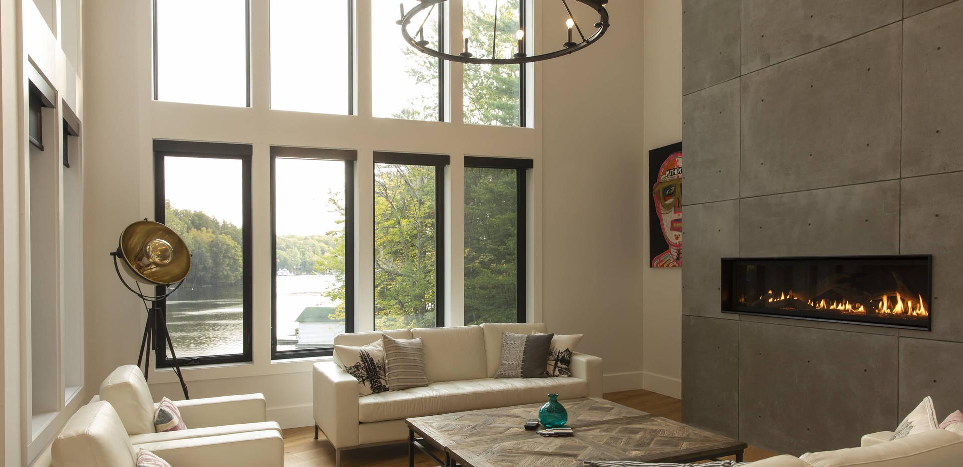 Spacious Living Room Layout Edenlane Muskoka