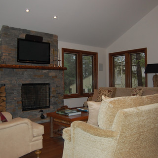 Interior Cottage Fireplace