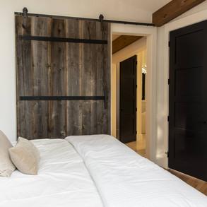 Bedroom barndoor Modern Cottage