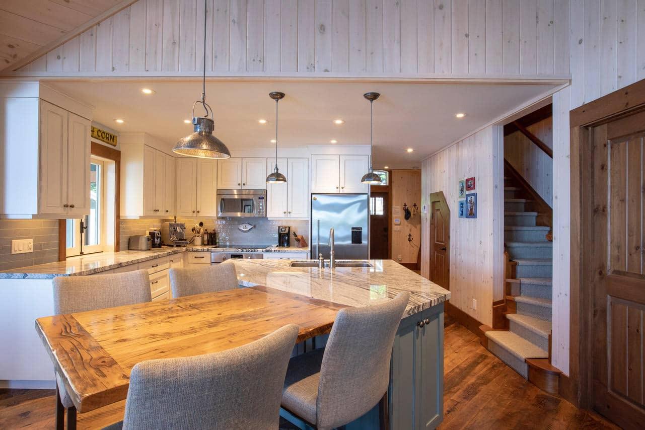 Small Custom Cottage Kitchen