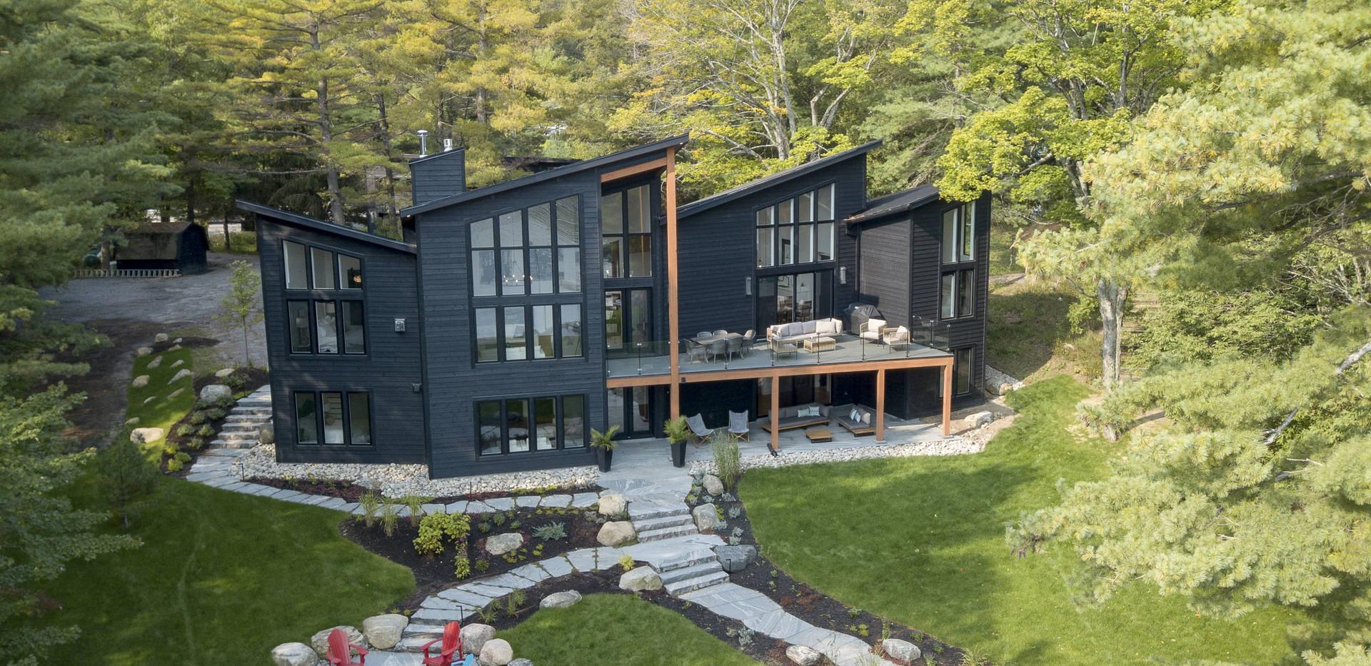 Contemporary Cottage Build