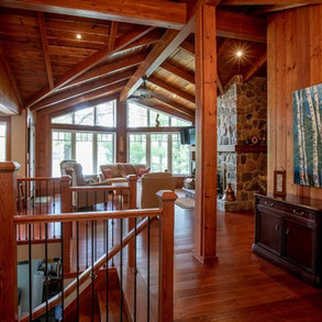 Complete Wood Interior in New Cottage Build