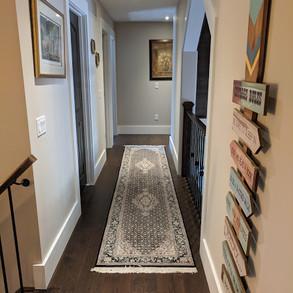 Upstairs Hallway in Cottage
