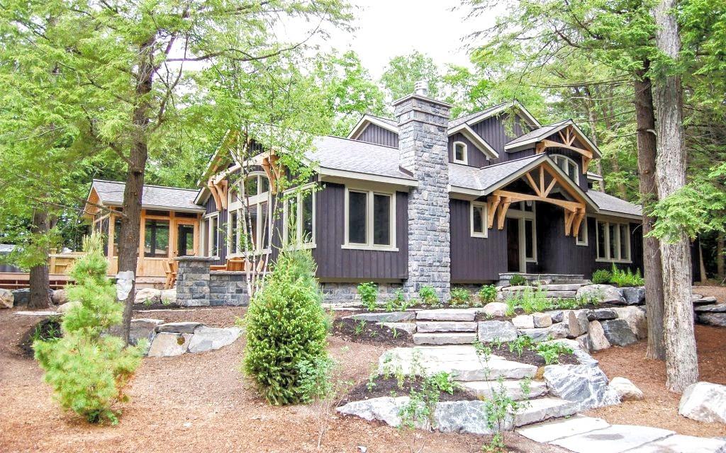 Modern Cottage with Traditional Elements Edenlane Muskoka
