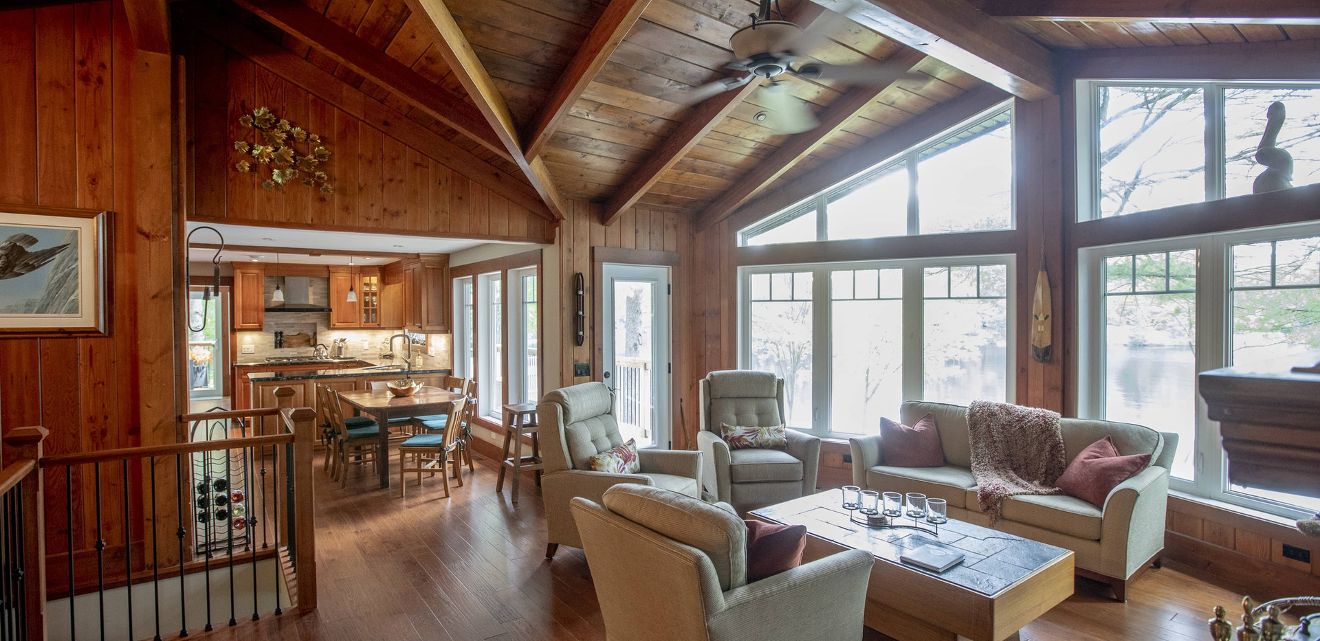 High Wood Ceilings Country Cottage