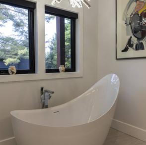 Freestanding Soaking Tub Modern Cottage