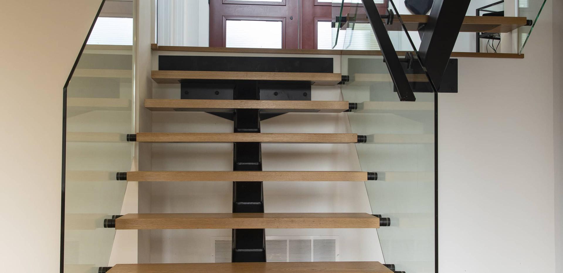 Modern Interior Stairs Edenlane Muskoka