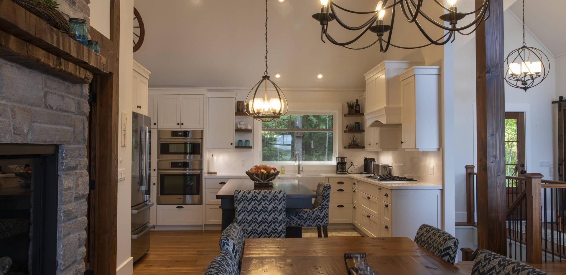 Modern Large White Kitchen Custom Build