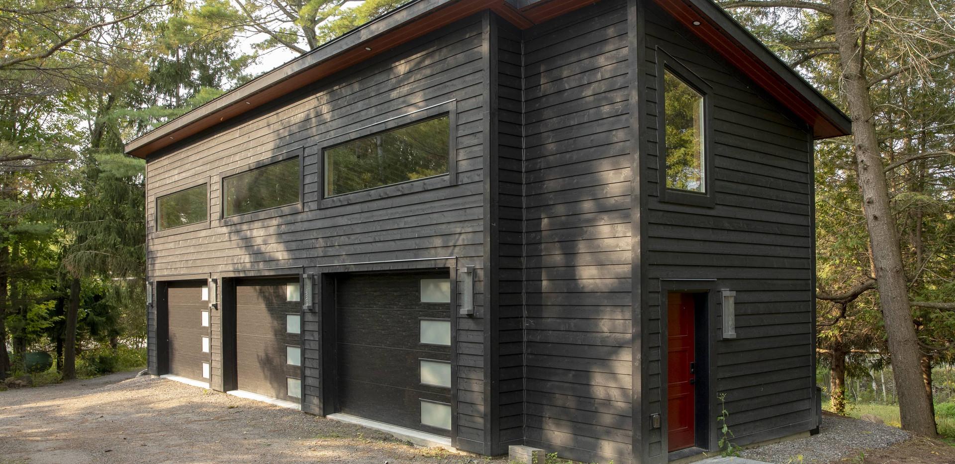 Large Custom Garage for Cottage Edenlane Muskoka