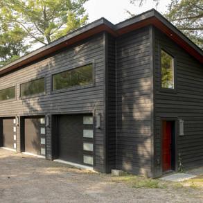Modern Cottage Garage