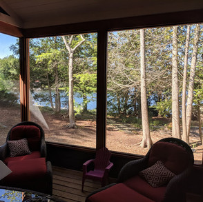 Cottage Screened in Porch