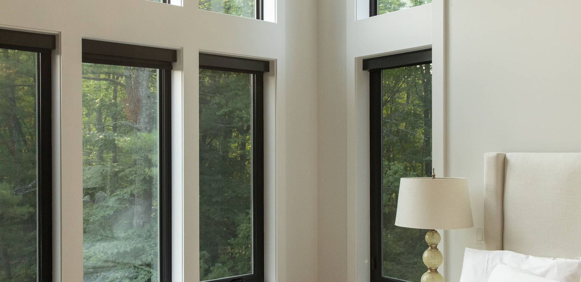 Large Floor to Ceiling Windows Custom Build