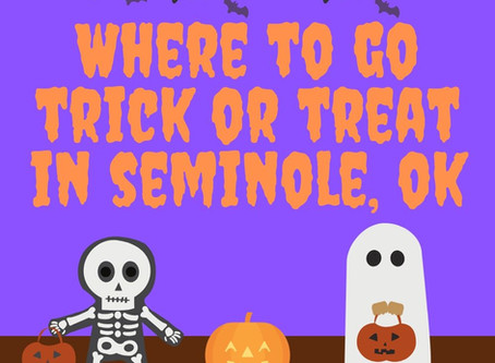 Trick-or-Treat in Seminole, OK