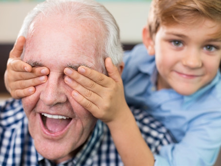 Los abuelos y abuelas, colaboradores en la educación de la niñez temprana