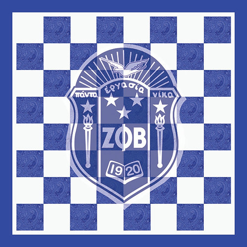 Zeta Phi Beta Chess Set