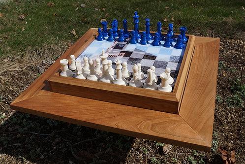 Hampton U Chess Set