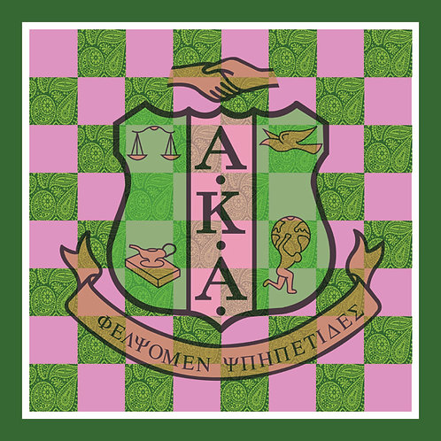 Alpha Kappa Alpha Chess Set