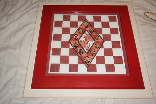 Kappa Alpha Psi Chess Set