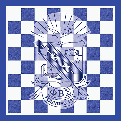 Phi Beta Sigma Chess Set