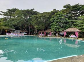 Poolside Area and Cottages