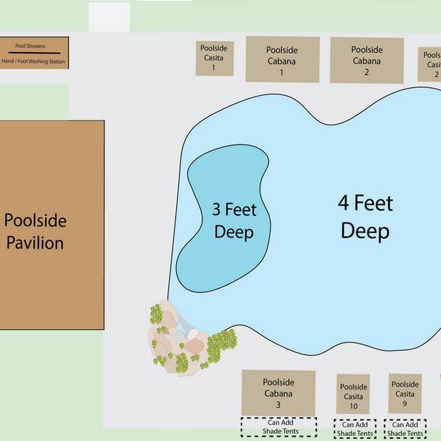 Poolside Map