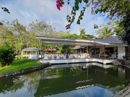 Lakeside Hall Patio and Island