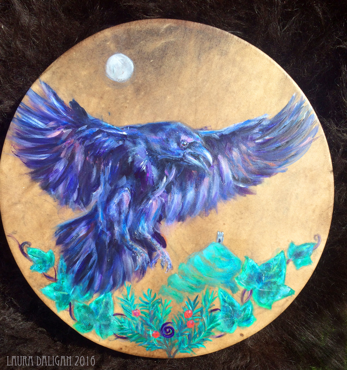 Belashka Raven Drum - Sold