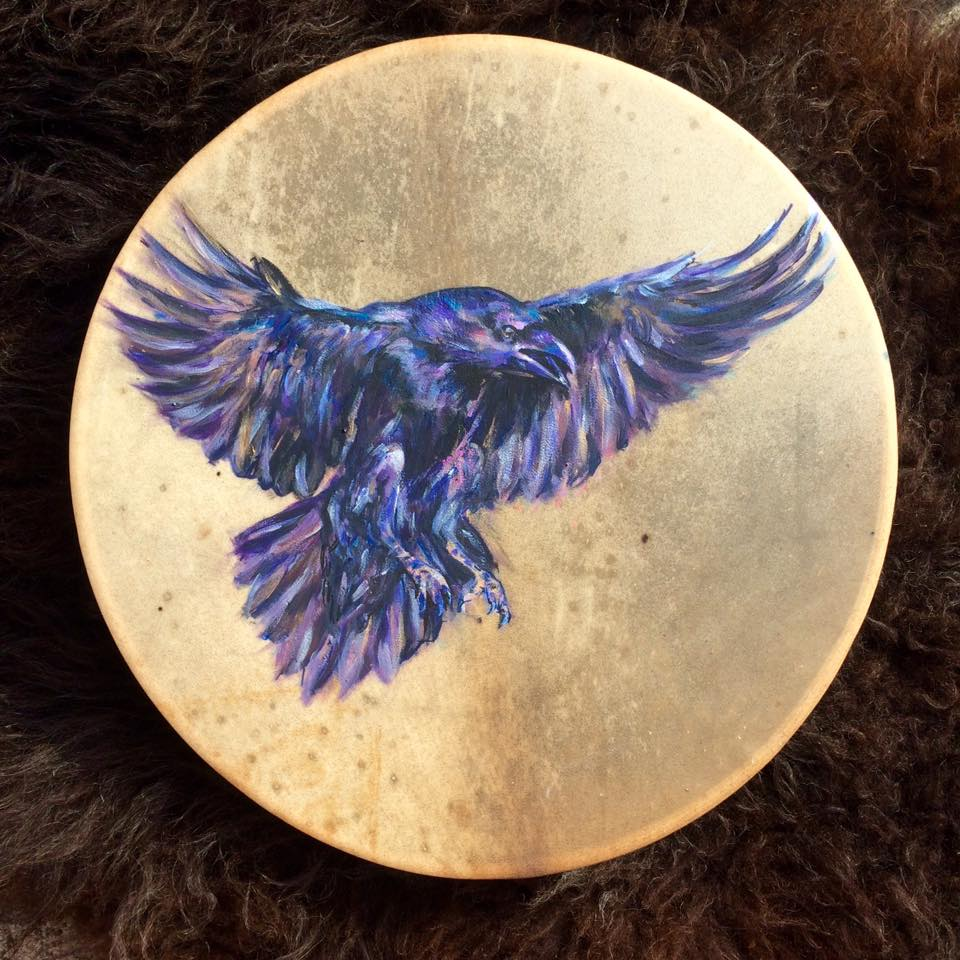Raven Drum for Belashka