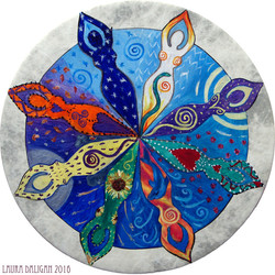 Goddess Mandala Drum