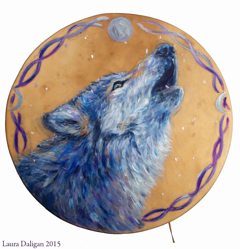 "Song of the Wild 16"" Shamanic Drum"