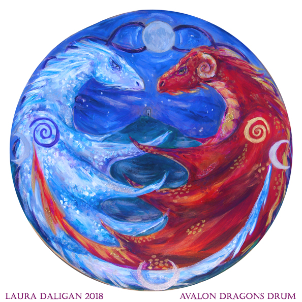 Avalon Dragons Drum