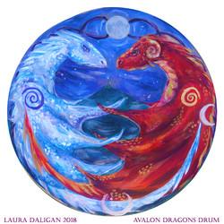 Avalon Dragons Drum
