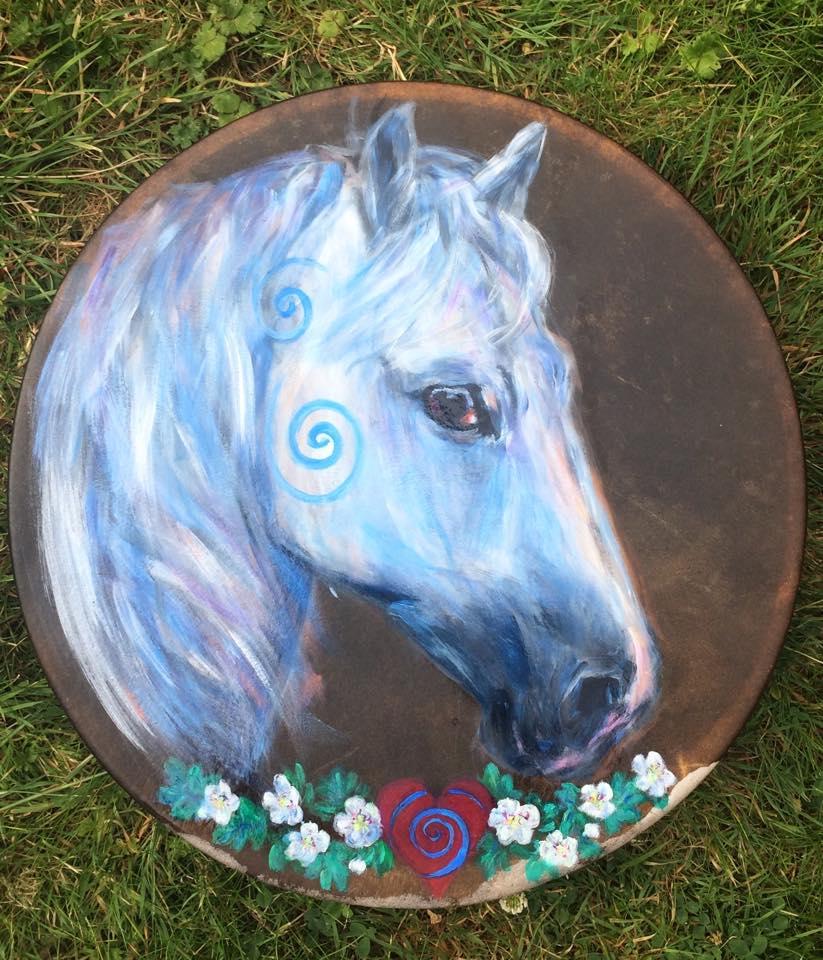 Belashka Horse Drum