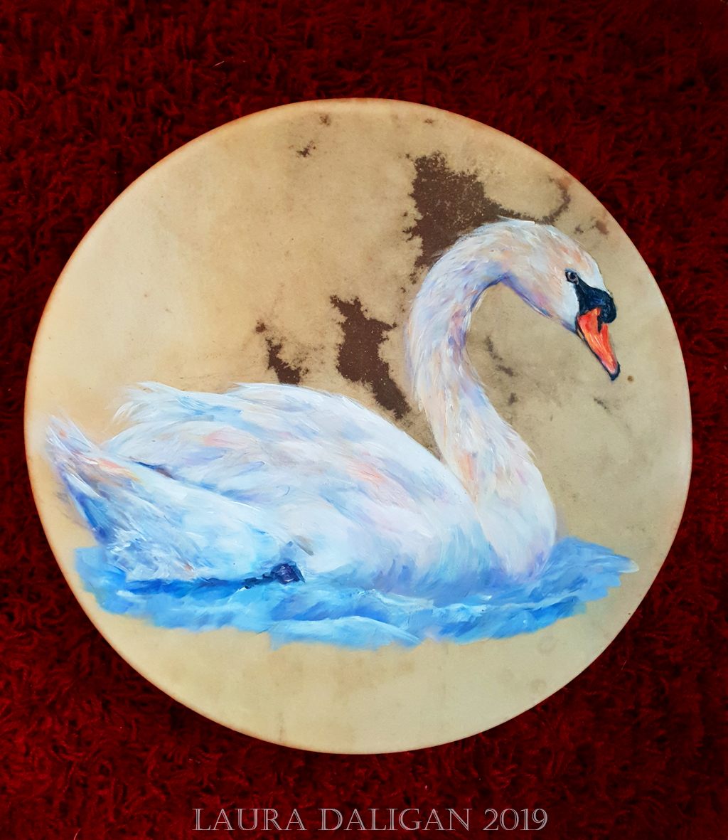 Swantje's Swan Drum
