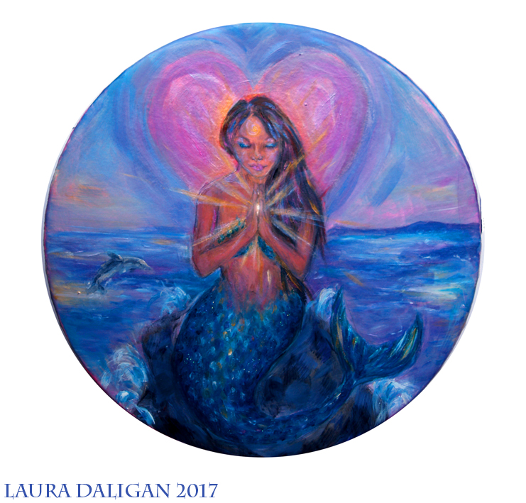Mermaid Healing Drum