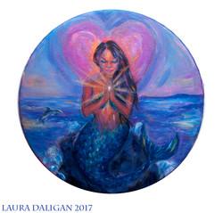 Mermaid Healing Drum