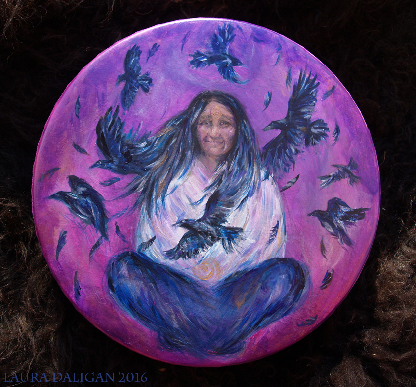 Maura's Crow Shapeshifter Drum
