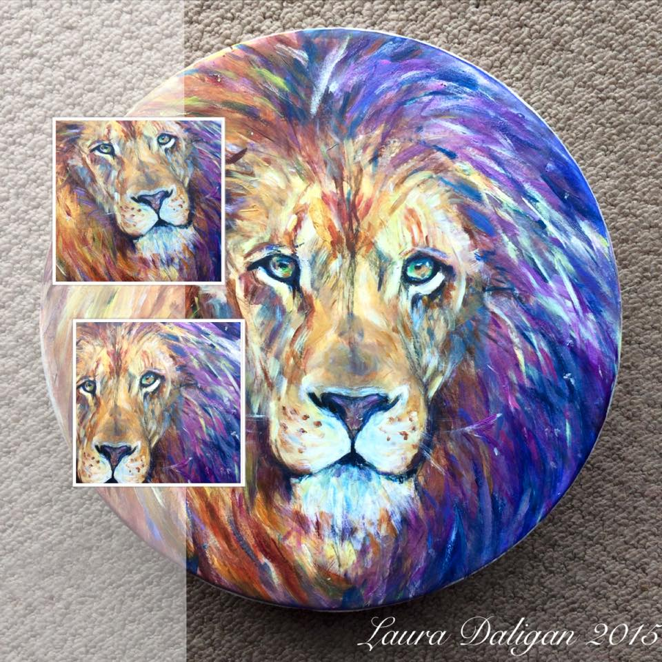 Heather's Lion Drum