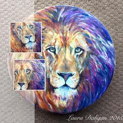 Heather's Lion Drum