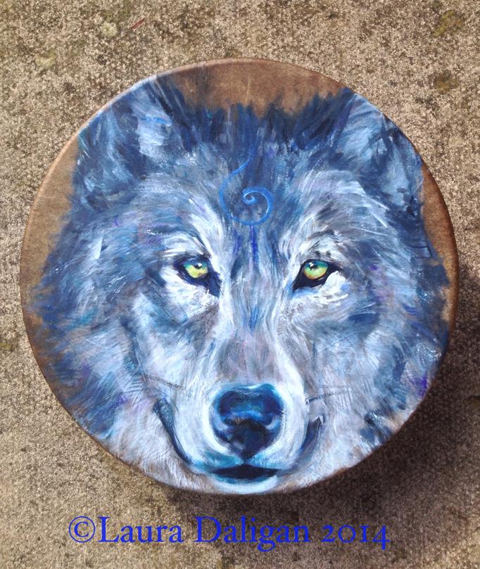 Wolf Drum