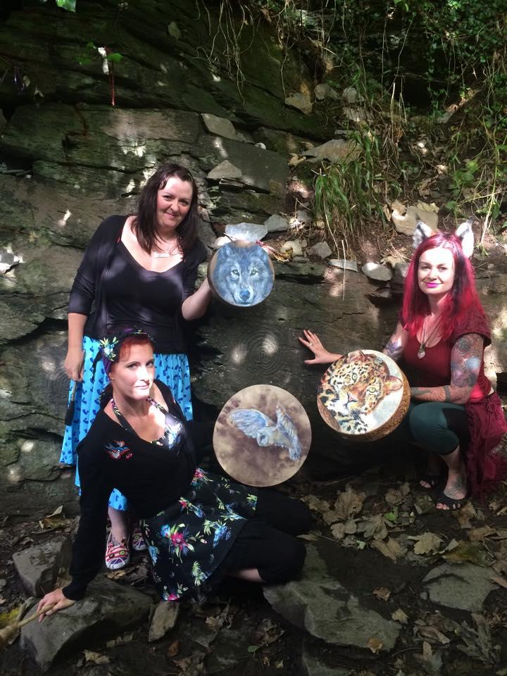 Faeries Drummers & Painted Drums