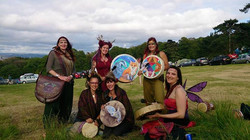 Faerie Drummers at 3 Wishes Festival