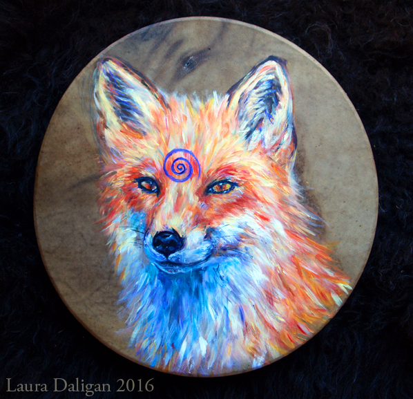 Mr Fox Drum Commission for Paul