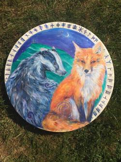 """Animals of Avalon 22"""" Drum"""