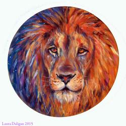 Anna's Lion Shamanic Drum