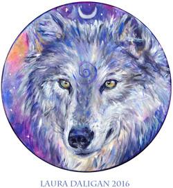 Joey's Cosmic Wolf