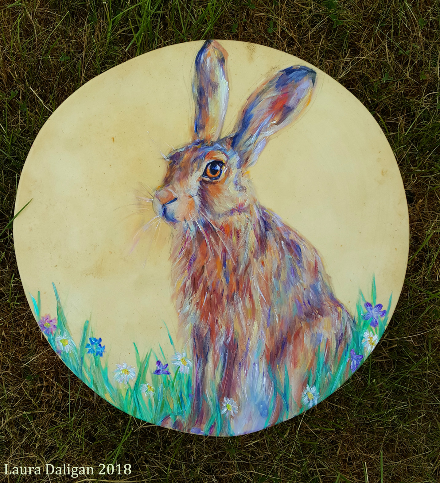 Summer Hare Drum