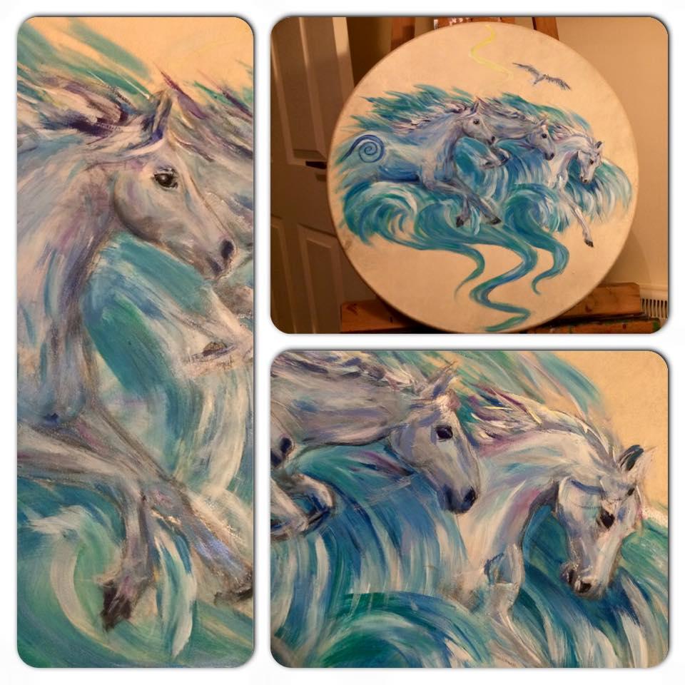 Sea Horse Drum