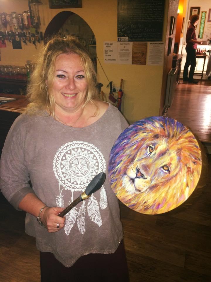 Anna & her Lion Drum