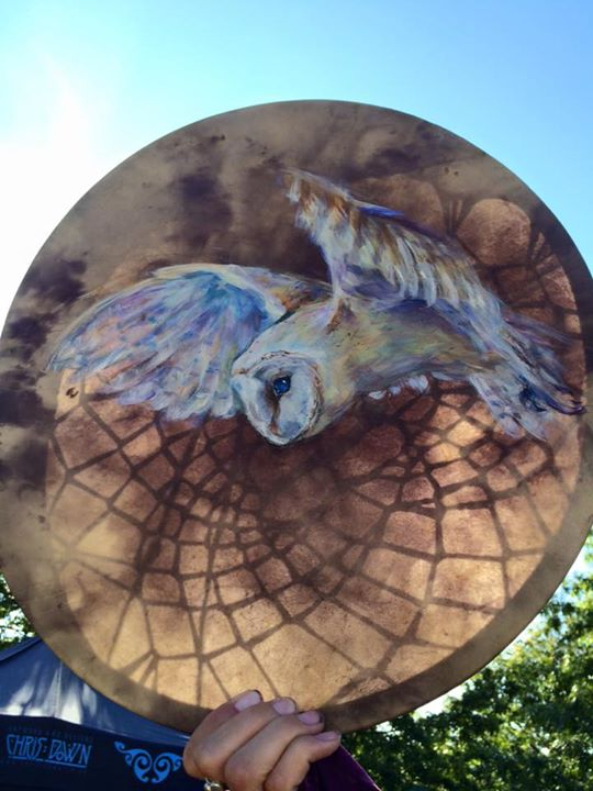 Verity's Owl Drum